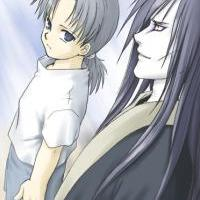 Orochimaru and Kabuto....