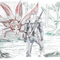 RGB Kyuubi + Geralt
