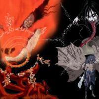 Sasuke a Naruto na PC
