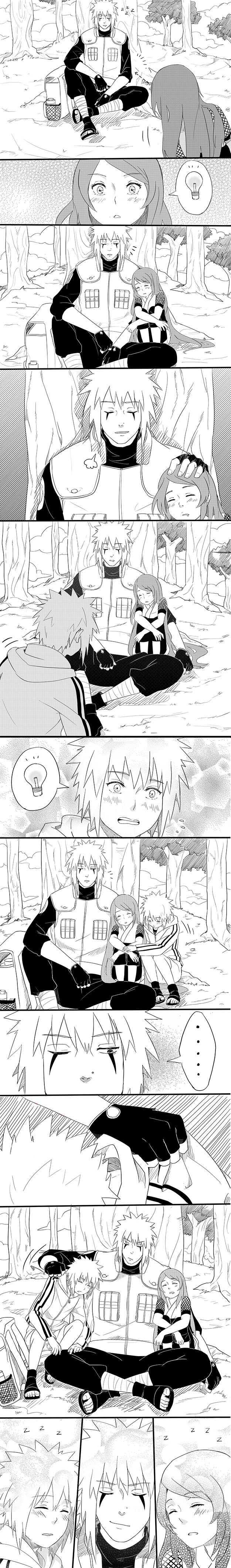 ,,Love from the beginning, Minato?""