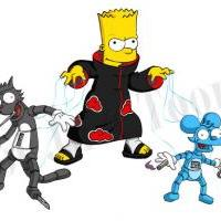 -> The Simpsons Akatsuki: Bartsori