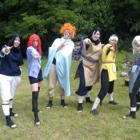 Naruto Tábor aneb zvučnáci blbli XD