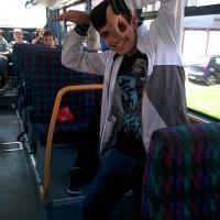 Strápnenie v autobuse :3