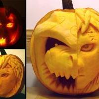 aaaw..Gaara and Shukaku Pumpkin