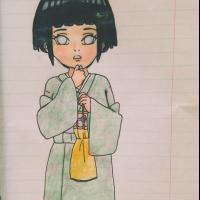 Hyuga Hinata in kimono
