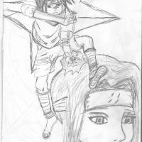 Sasuke a Haku
