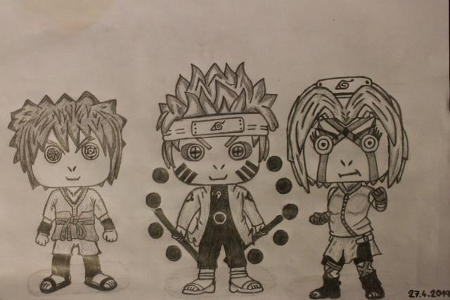 Team 7 karikatura - Strong version
