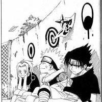 Manga  7-Sakura,Naruto a Sasuke