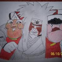 Jiraiya by Frid