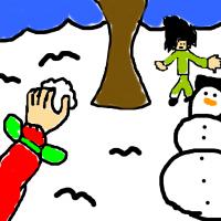 Naruto a Sasuke - guľovačka