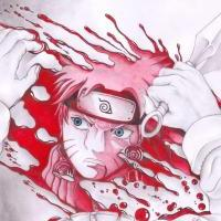 **Naruto in blood**