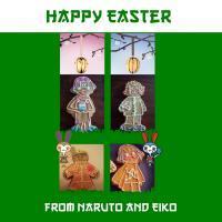 """Happy Easter"" aneb Naruto perníčky =oP"