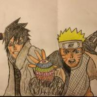 Naruto a Sasuke-Easter