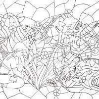 Mírně stresová omalovánka, aneb co to ten Sai kreslí?
