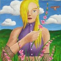 Děvče z květinářství