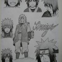 """Honour for Jiraiya ""...... by me .... Ironhide"