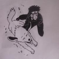 \\Kiba with Akamaru ... 4 Rika//
