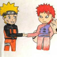 3 - Naruto & Gaara