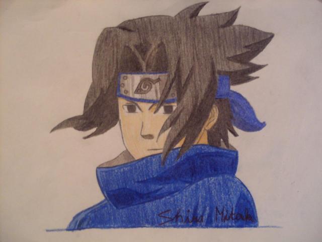 Sasuke Uchiha for ronies by shira.mitak