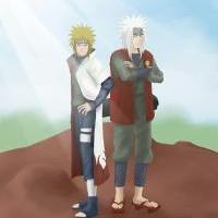 Jiraiya and Minato...