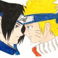* Naruto and Sasuke *