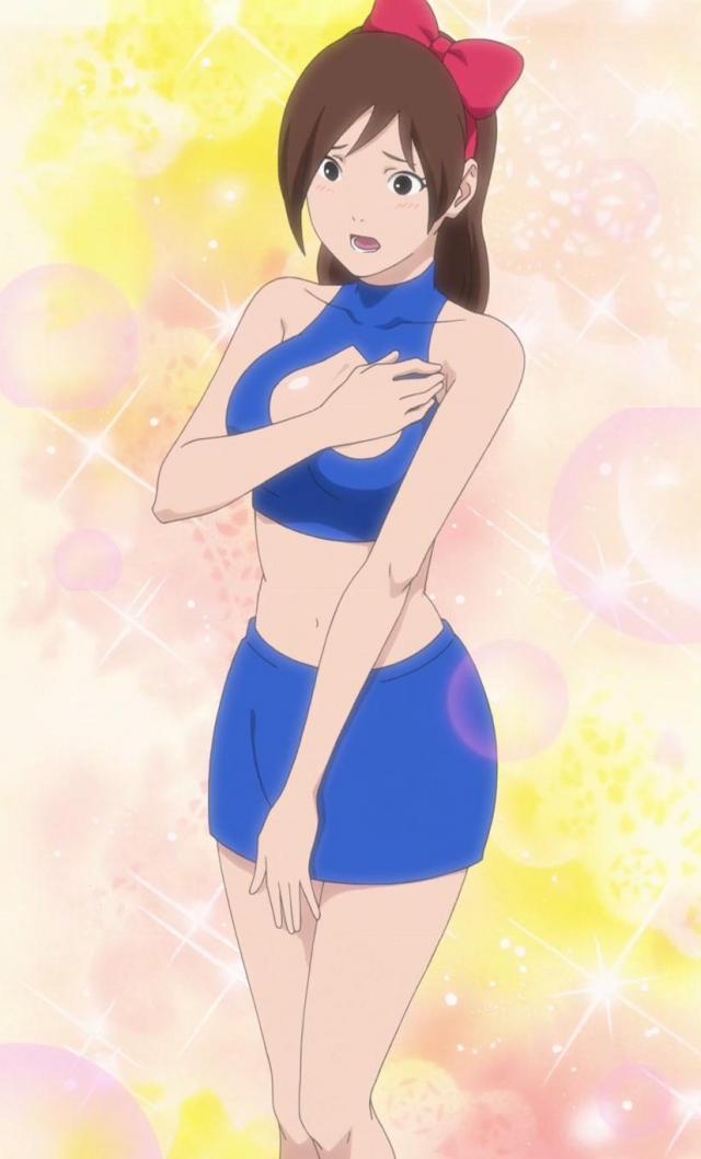 Ayame z Ichiraku rámenu, verze Naruto SD   Konoha.cz  Ayame