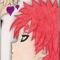 My FanArt - Gaara-sama with sweet hearts...