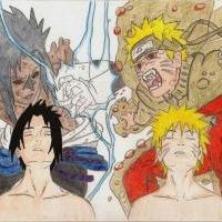 * Sasuke vs Naruto (shippuuden) *