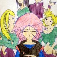 """""""Kunoichi jako Witch"""" xD"""
