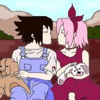 * Sasuke and Sakura *