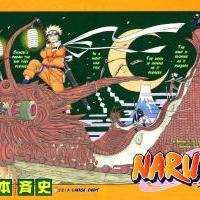 Manga 213 - Tým 7 na střechách