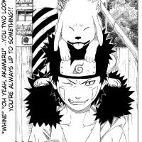 Manga 190 - Kiba s Akamarem na hlavě