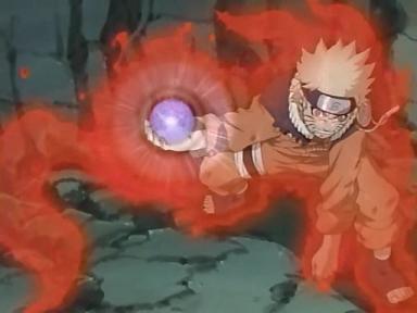 Naruto kyuubi rasengan