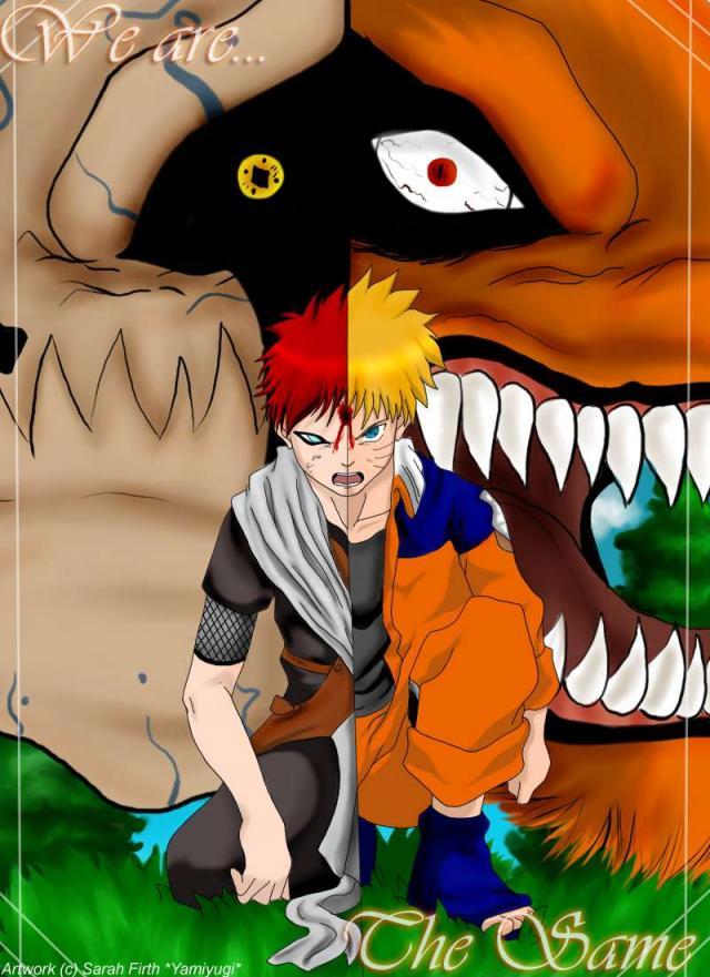 Naruto X Gaara