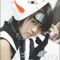 Sasuke ANBU cosplay