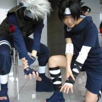 Kakashi and Sasuke Cosplay