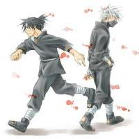 Kakashi and Iruka Lovers Quarrel