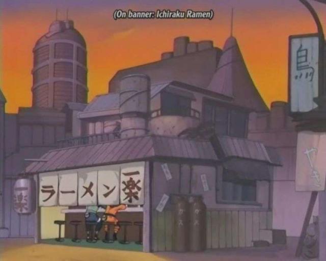 Ichiraku Ramen bar