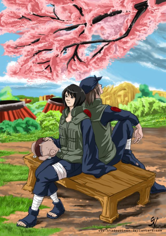 Genma and Shizune love ? ?