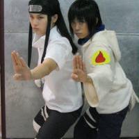 Neji a Hinata_cosplay
