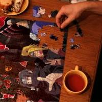 Fotomontáž - Akatsuki puzzle