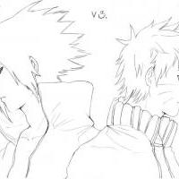 (Sasuke vs. Naruto)