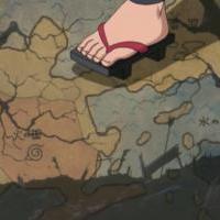 Jiraiya traveling/ Jiraiyova cesta po svete, otrasaneho chaosom