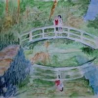 Rande na japonském mostě