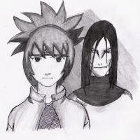 Mitarashi & Orochimaru