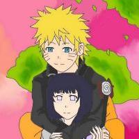* Naruto and Hinata *