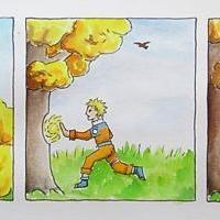 Narutův podzimní trénink