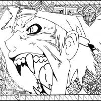 The roar of a beast.