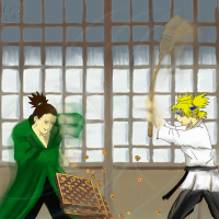 Shikamaru : Temari FIGHT!