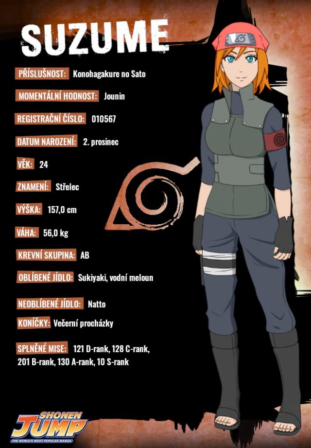 Suzume Tachibana (Naruto OC)